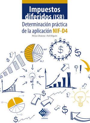 IMPUESTOS DIFERIDOS - ISR  (2021)