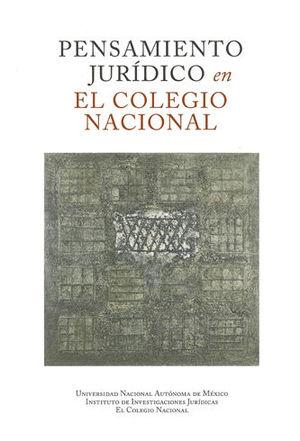 PENSAMIENTO JURÍDICO EN EL COLEGIO NACIONAL