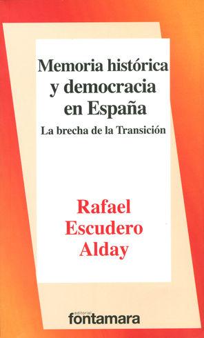 MEMORIA HISTÓRICA Y DEMOCRACIA EN ESPAÑA