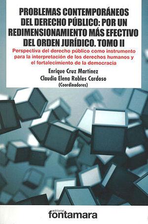 PROBLEMAS CONTEMPORÁNEOS DEL DERECHO PÚBLICO - TOMO II