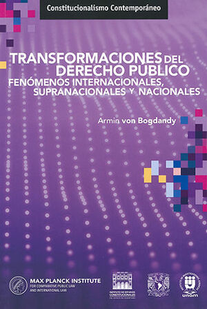 TRANSFORMACIONES DEL DERECHO PÚBLICO
