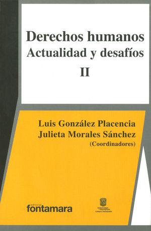 DERECHOS HUMANOS ACTUALIDAD Y DESAFÍOS II