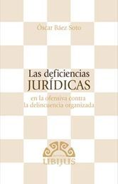 DEFICIENCIAS JURIDICAS, LAS