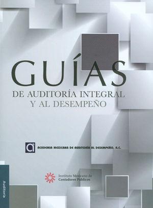 GUÍAS DE AUDITORÍA INTEGRAL Y AL DESEMPEÑO