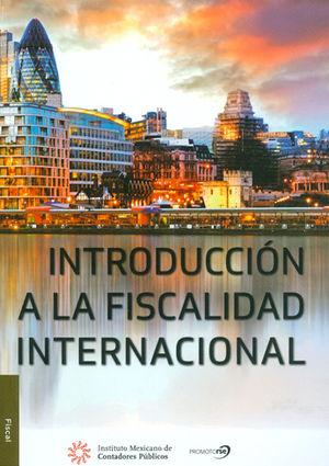 INTRODUCCIÓN A LA FISCALIDAD INTERNACIONAL