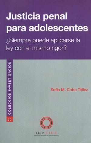 JUSTICIA PENAL PARA ADOLESCENTES