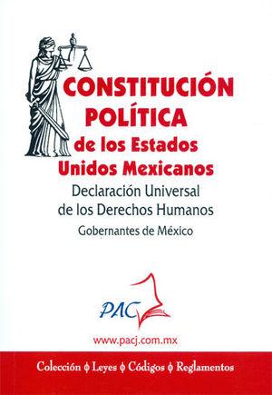 CONSTITUCIÓN POLÍTICA DE LOS ESTADOS UNIDOS MEXICANOS (2020)