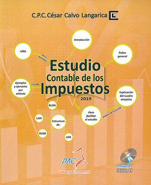 ESTUDIO CONTABLE DE LOS IMPUESTOS 2019