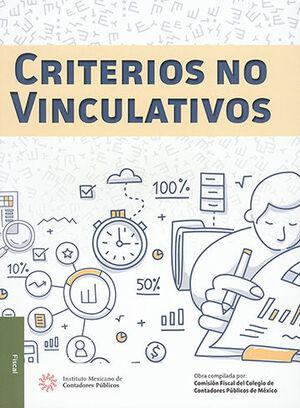 CRITERIOS NO VINCULATIVOS
