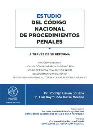 ESTUDIO DEL CÓDIGO NACIONAL DE PROCEDIMIENTOS PENALES