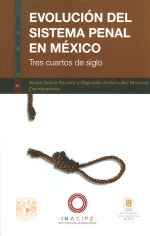 EVOLUCIÓN DEL SISTEMA PENAL EN MÉXICO