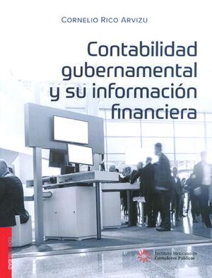 CONTABILIDAD GUBERNAMENTAL Y SU INFORMACIÓN FINANCIERA