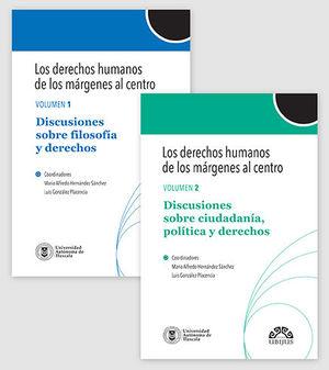 DERECHOS HUMANOS DE LOS MÁRGENES AL CENTRO, LOS - 2 TOMOS