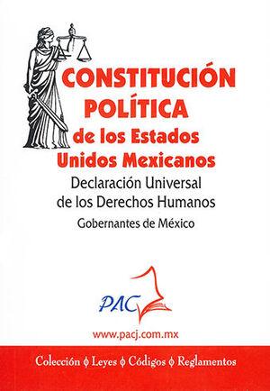 CONSTITUCIÓN POLÍTICA DE LOS ESTADOS UNIDOS MEXICANOS - A JUNIO 2021 BOLSILLO