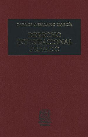 DERECHO INTERNACIONAL PRIVADO. DECIMOCTAVA EDICIÓN