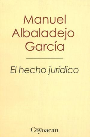 HECHO JURÍDICO, EL