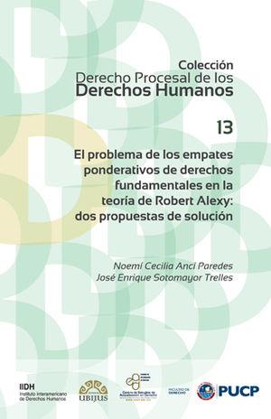PROBLEMA DE LOS EMPATES PONDERATIVOS DE DERECHOS FUNDAMENTALES EN LA TEORÍA DE ROBERT ALEXY, EL