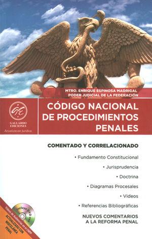 CÓDIGO NACIONAL DE PROCEDIMIENTOS PENALES 2017 COMENTADO Y CORRELACIONADO