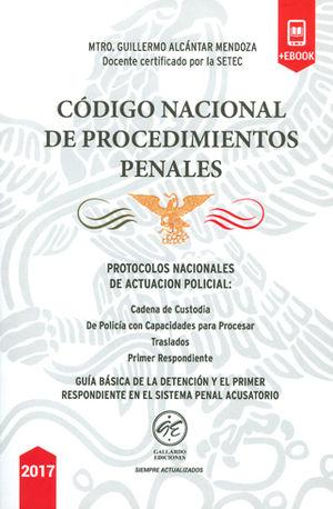 CÓDIGO NACIONAL DE PROCEDIMIENTOS PENALES 2017