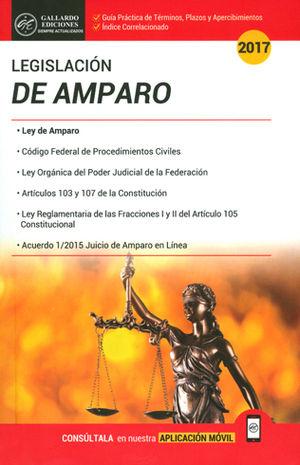 LEGISLACIÓN DE AMPARO 2017