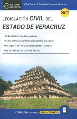 LEGISLACIÓN CIVIL DEL ESTADO DE VERACRUZ