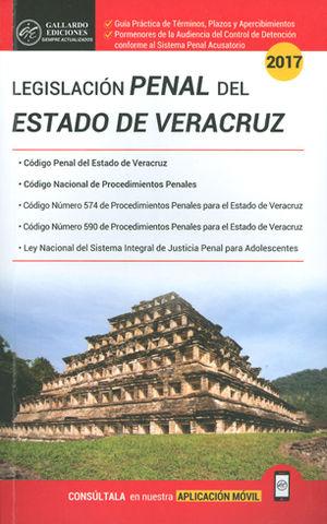 LEGISLACIÓN PENAL DEL ESTADO DE VERACRUZ