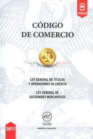 CÓDIGO DE COMERCIO 2017