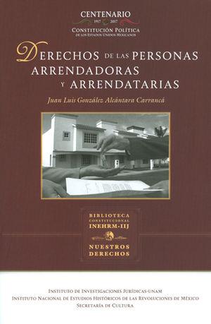 DERECHOS DE LAS PERSONAS ARRENDADORAS Y ARRENDATARIAS