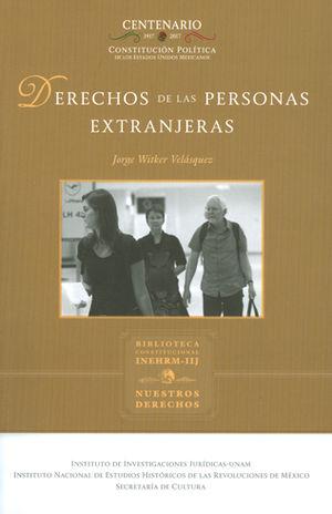 DERECHOS DE LAS PERSONAS EXTRANJERAS