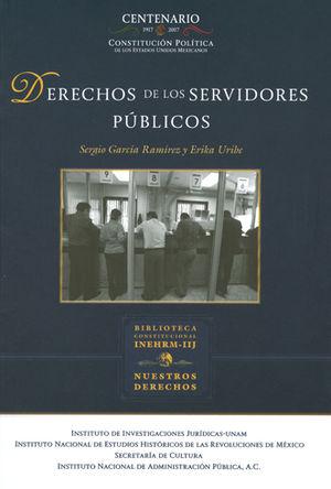DERECHOS DE LOS SERVIDORES PUBLICOS