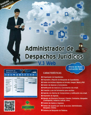 ADMNISTRADOR DE DESPACHOS JURÍDICOS V.3 WEB