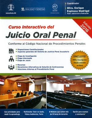 CURSO INTERACTIVO DEL JUICIO ORAL PENAL