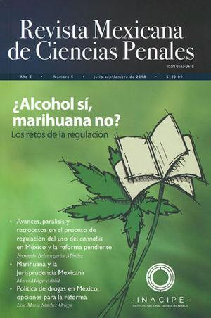 REVISTA MEXICANA DE CIENCIAS PENALES NÚM. 5 (JULIO-SEPTIEMBRE 2018)