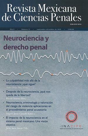 REVISTA MEXICANA DE CIENCIAS PENALES, NÚM. 12 (SEPTIEMBRE-DICIEMBRE 2020)