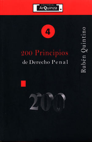 200 PRINCIPIOS DE DERECHO PENAL - #4