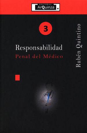 RESPONSABILIDAD PENAL DEL MÉDICO
