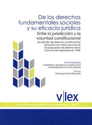 DE LOS DERECHOS FUNDAMENTALES SOCIALES Y SU EFICA
