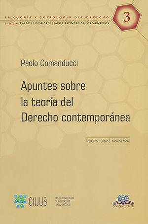 APUNTES SOBRE LA TEORÍA DEL DERECHO CONTEMPORÁNEA #3