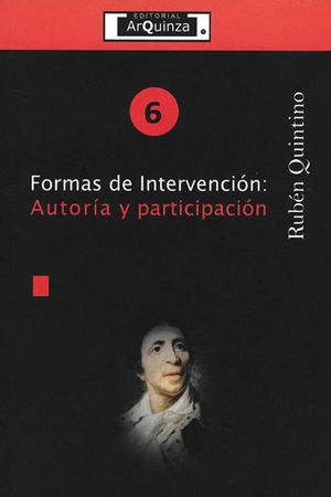FORMAS DE INTERVENCIÓN: AUTORÍA Y PARTICIPACIÓN