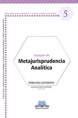 ENSAYOS DE METAJURISPRUDENCIA ANALÍTICA #5