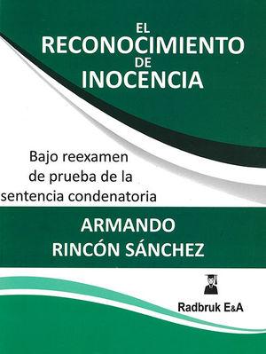 RECONOCIMIENTO DE INOCENCIA, EL