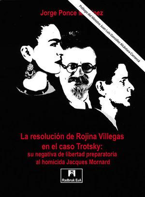 RESOLUCIÓN DE ROJINA VILLEGAS EN EL CASO TROTSKY: SU NEGATIVA DE LIBERTAD PREPARATORIA AL HOMICIDA JACQUES MORNARD