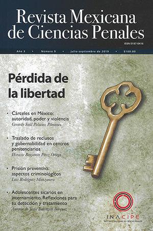 REVISTA MEXICANA DE CIENCIAS PENALES NUM. 9 (JULIO-SEPTIEMBRE DEL 2019)