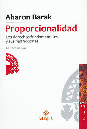 PROPORCIONALIDAD - 1ª ED. 2017, 1ª REIM. 2021