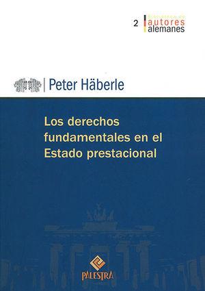 DERECHOS FUNDAMENTALES EN EL ESTADO PRESTACIONAL, LOS