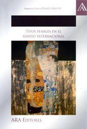 TIPOS PENALES EN EL ÁMBITO INTERNACIONAL