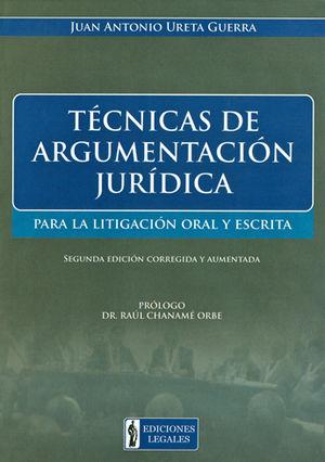 TECNICAS DE ARGUMENTACION JURIDICA