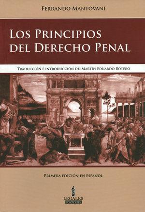 PRINCIPIOS DEL DERECHO PENAL, LOS