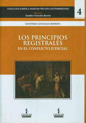 PRINCIPIOS REGISTRALES, LOS  PASTA DURA