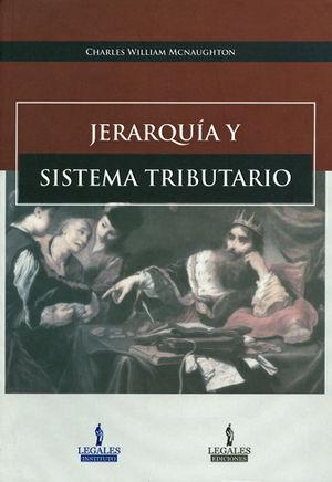 JERARQUÍA Y SISTEMA TRIBUTARIO